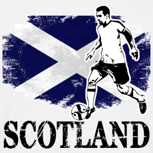 Soccer - Fußball - Scotland Flag T-Shirts - Men's T-Shirt