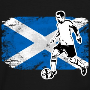 Soccer - Fußball - Scotland Flag T-Shirts - Men's Ringer Shirt