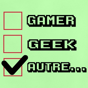 no gamer,no geek - T-shirt Bébé