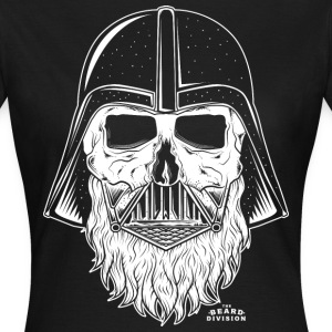 Beard Vader Ladies WHT - Frauen T-Shirt