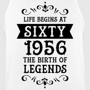 Life Begins At Sixty - 1956 The Birth Of Legends Ropa deportiva - Camiseta sin mangas hombre transpirable