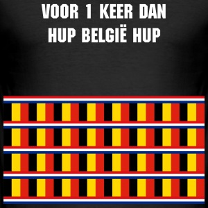 Support Belgium T-shirts - slim fit T-shirt