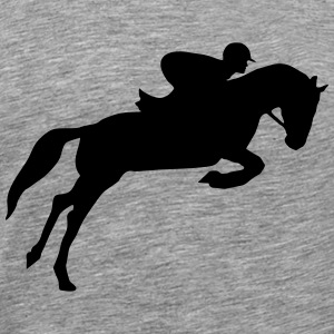 riding, horse, equestrian T-Shirts - Men's Premium T-Shirt
