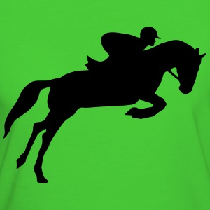 riding, horse, equestrian T-shirts - Organic damer