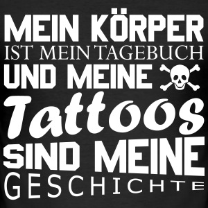 Meine Tattoos T-Shirts - Männer Slim Fit T-Shirt