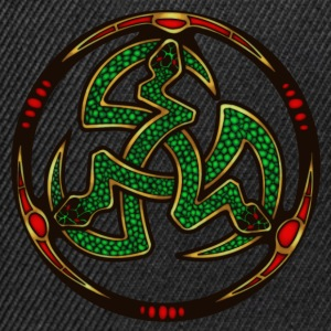 Serpent Triskellion Caps & Hats - Snapback Cap