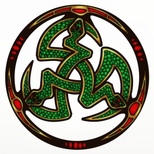 Serpent Triskellion Mugs & Drinkware - Coasters (set of 4)