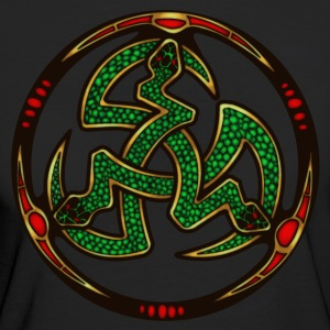 Serpent Triskellion T-Shirts - Women's Organic T-shirt