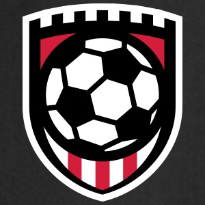 Minimal football logo / coat of arms / flag / badge Grembiuli - Grembiule da cucina