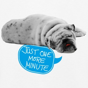 Just one more minute Langarmshirts - Kinder Premium Langarmshirt
