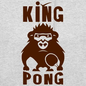 gorille king pong raquette ping Sweat-shirts - Sweat-shirt à capuche unisexe