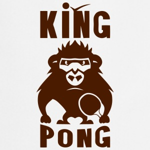 Gorilla king pong racket ping  Aprons - Cooking Apron