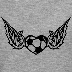 football soccer wing logo 28042 Long sleeve shirts - Men's Premium Longsleeve Shirt