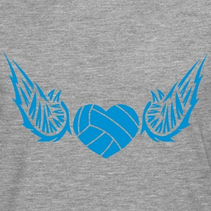 volleyball_waterpolo wing logo 28042 Long sleeve shirts - Men's Premium Longsleeve Shirt