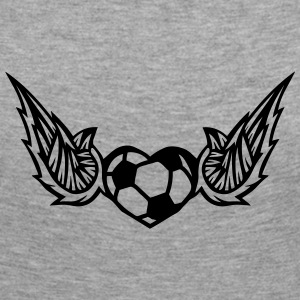 football soccer wing logo 28042 Long Sleeve Shirts - Women's Premium Longsleeve Shirt