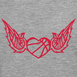 basketball wing logo 2804 Long sleeve shirts - Men's Premium Longsleeve Shirt