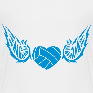 volleyball_waterpolo wing logo 28042 Shirts - Teenage Premium T-Shirt