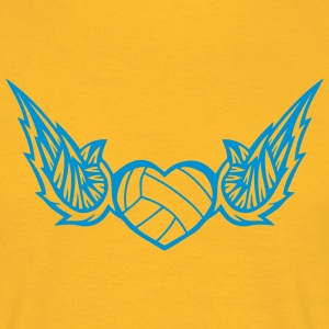 volleyball waterpolo wing logo 2804 T-Shirts - Men's T-Shirt