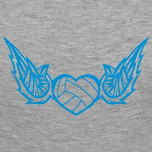 volleyball waterpolo wing logo 2804 Long Sleeve Shirts - Women's Premium Longsleeve Shirt