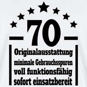 """Geburtstag T-Shirts mit """"Eigenschaften 70. Geburtstag"""""""