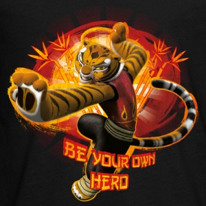 Kung Fu Panda 3 Tigress Be Your Own Hero Ado Tee s - T-shirt manches longues Premium Ado