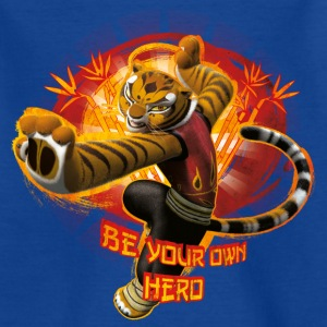 Kung Fu Panda 3 Tigress Be Your Own Hero Ado T-Shi - T-shirt Ado