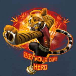 Kung Fu Panda 3 Tigress Be Your Own Hero Kinder - Kinder Premium Langarmshirt
