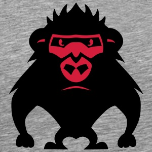 Gorilla drawing 27042 T-Shirts - Men's Premium T-Shirt