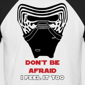 Kylo Mask I Feel It Too T-skjorter - Kortermet baseball skjorte for menn