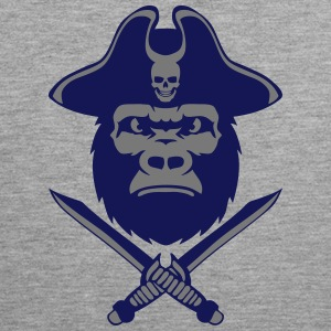 Gorilla hat pirate knife 5 Sports wear - Men's Premium Tank Top