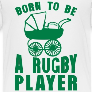 rugby landau born player to be T-Shirts - Teenager Premium T-Shirt