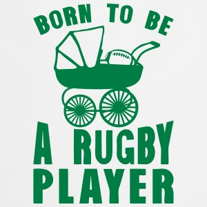 rugby landau born player to be  Aprons - Cooking Apron
