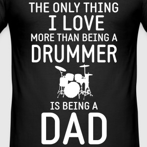 Drummer & Dad T-Shirts - Männer Slim Fit T-Shirt