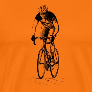 racing bicycle T-shirts - Herre premium T-shirt