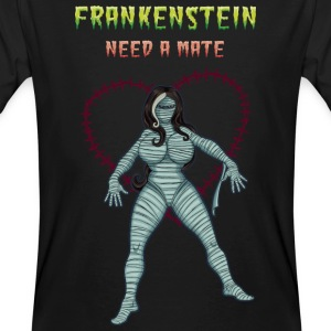 Frankenstein need a mate T-shirts - Mannen Bio-T-shirt