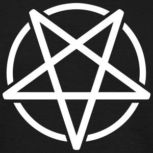 Pentagram T-shirts - Herre-T-shirt