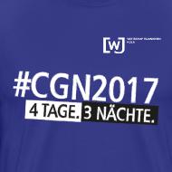 Motiv ~ #CGN 2017 Botschafter-Shirt Herren