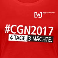 Motiv ~ #CGN 2017 Botschafter-Shirt Damen