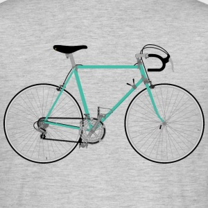 Hipster Roadbike - T-skjorte for menn