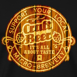 Craft Beer T-shirts - Herre premium T-shirt