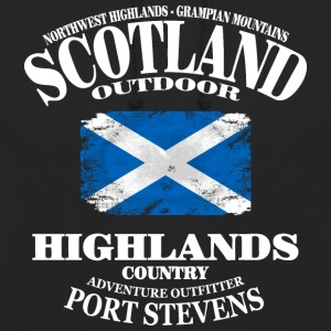 Highlands - Scotland Vintage Flag Pullover & Hoodies - Unisex Hoodie