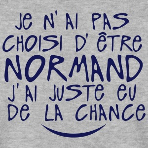 pas choisi etre normand juste chance Sweat-shirts - Sweat-shirt Homme