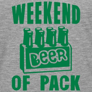 weekend of pack beer alcool Manches longues - T-shirt manches longues Premium Homme