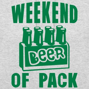 weekend of pack beer alcool Sweat-shirts - Sweat-shirt à capuche unisexe