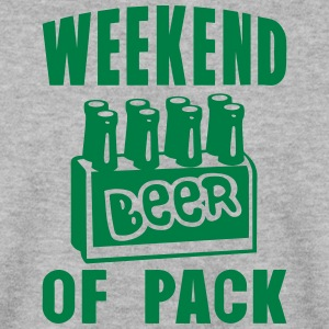 weekend of pack beer alcool Sweat-shirts - Sweat-shirt Homme