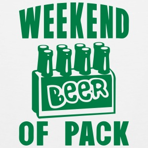 weekend of pack beer alcool Vêtements de sport - Débardeur Premium Homme