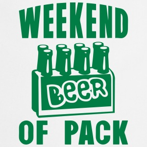 weekend of pack beer alcool Tabliers - Tablier de cuisine