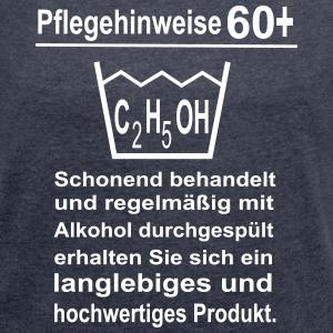"""Geburtstag T-Shirts mit """"60 Geburtstag Pflegehinweise"""""""