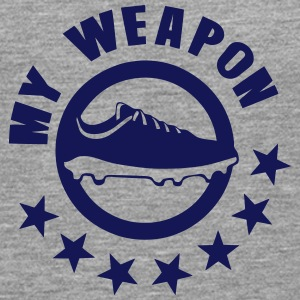 soccer shoe my weapon 1 Long sleeve shirts - Men's Premium Longsleeve Shirt
