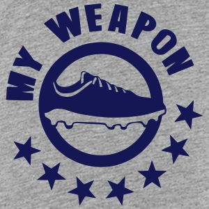 soccer shoe my weapon 1 Shirts - Kids' Premium T-Shirt